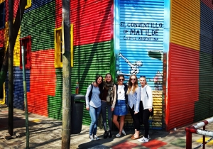 Volunteers at La Boca
