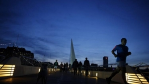 Running in Puerto Madero