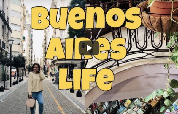 Getting lost and falling in love with Buenos Aires