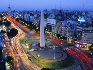 Beautiful Buenos Aires city
