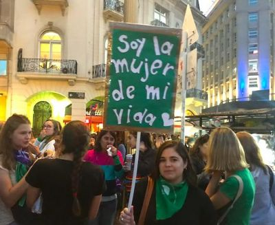 2019 International Women's Day in Buenos Aires