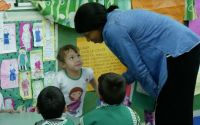 Jessica at the Kindergarten