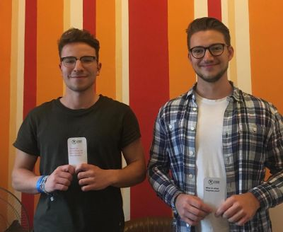 Meet Udo and Manu, our new volunteers from Germany!