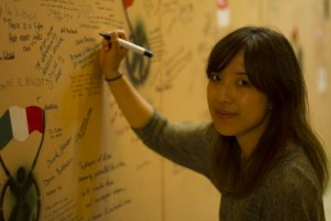 Pui, teaching english volunteer