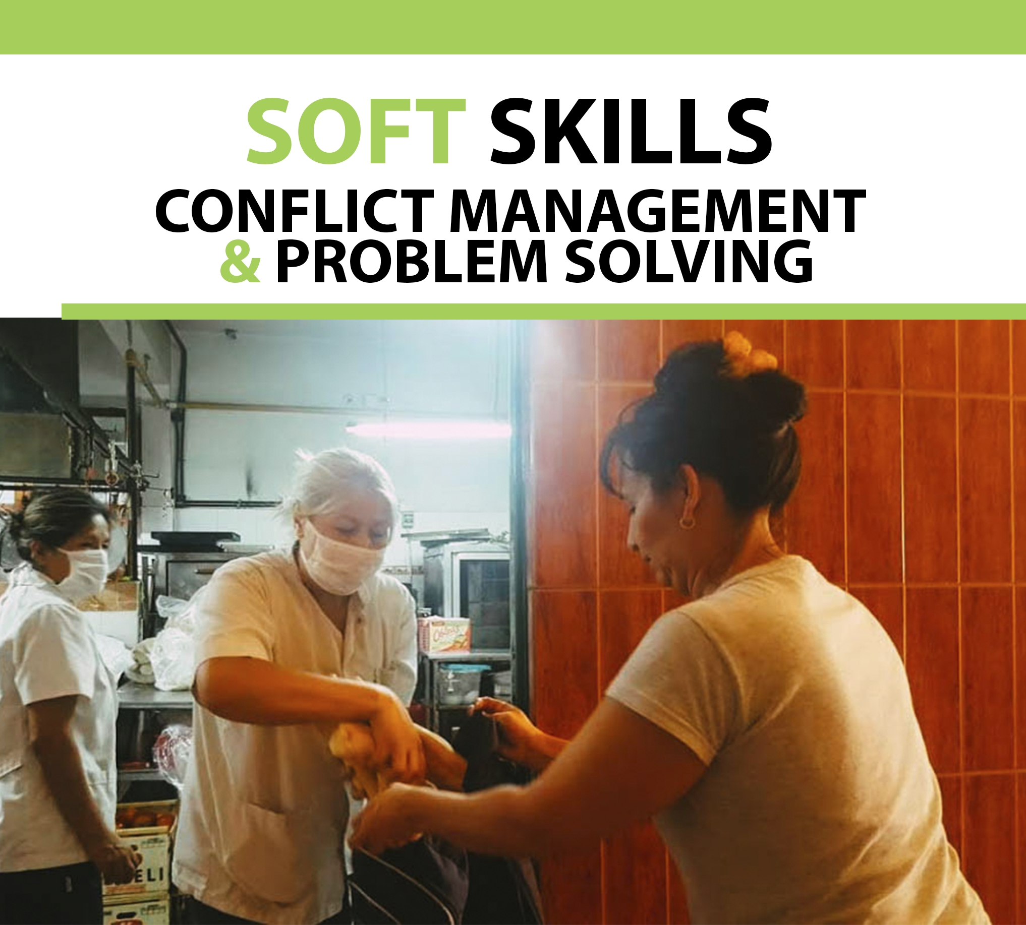 Let's talk about soft skills: Conflict management and problem solving