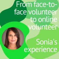 From face-to-face volunteer to online volunteer: Sonia's testimony