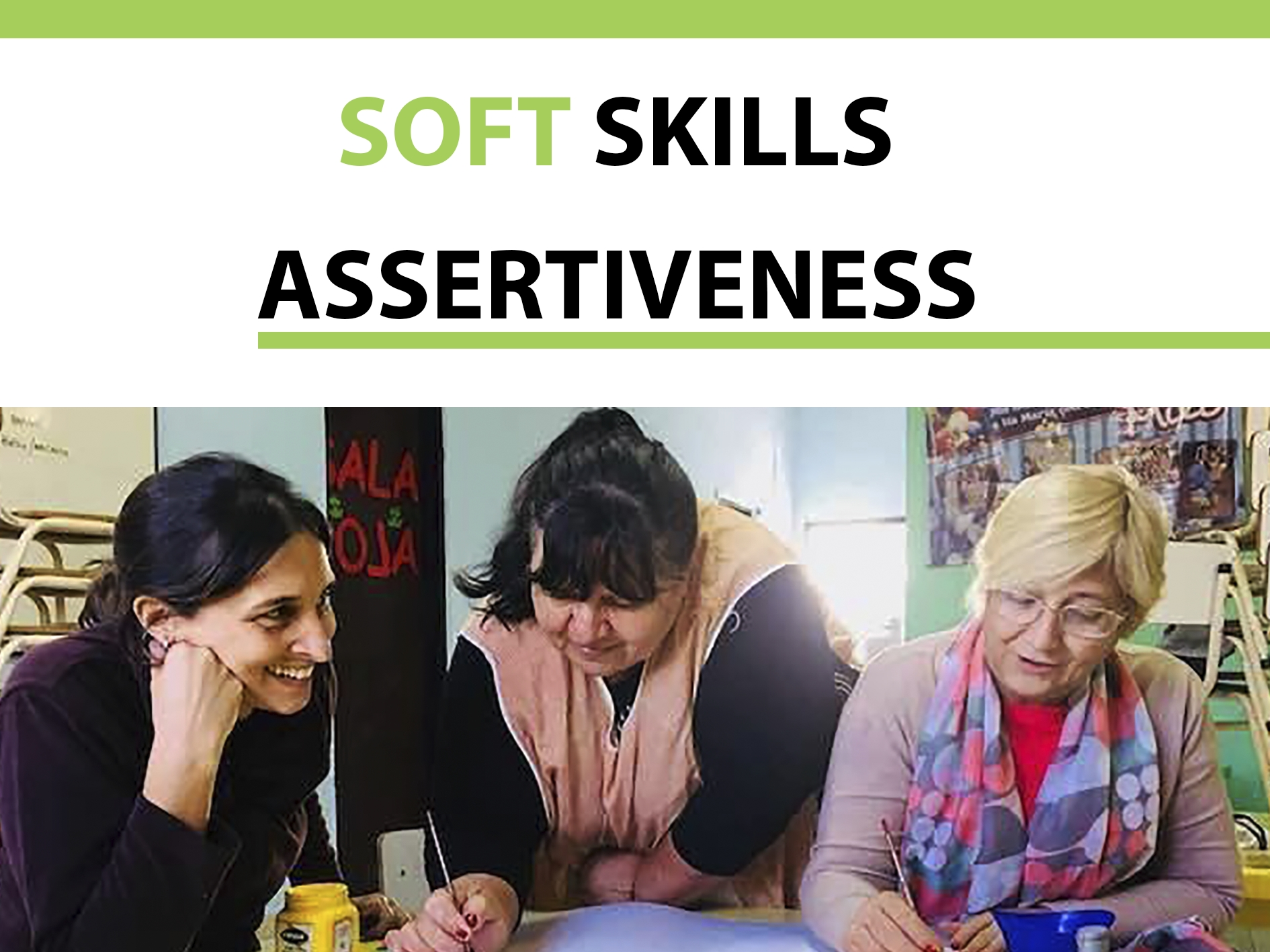 Let's talk about soft skills: Assertiveness